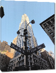 Toiles imprimées Photo d'une rue de New York