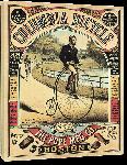 Toiles imprimées Affiche publicitaire ancienne Columbia Bicycle