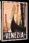 Toiles imprimées Affiche ancienne publicité Venezia, Venice Italy