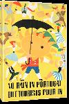 Toiles imprimées Affiche ancienne No Rain in Portugal But Tourists Pour In