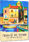 Toiles imprimées Affiche publicitaire ancienne Discover France by Train, The French Riviera, French National Railroads