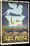 Toiles imprimées Affiche ancienne publicité London, Paris, Venice - Venice Simplon Orient Express