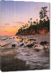 Toiles imprimées Affiche d'un coucher de soleil
