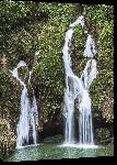 Toiles imprimées Affiche cascade a Cuba