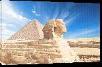 Toiles imprimées Sphinx Giza, Egypt.