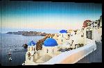 Toiles imprimées Poster paysage de la Grèce