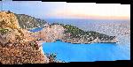 Toiles imprimées Poster paysage de Grèce