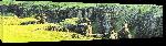 Toiles imprimées Photo panoramique de canyon en Islande