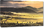 Toiles imprimées Photo de la Toscane en Italie