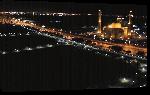 Toiles imprimées Photo mosquée de nuit à Bahrein