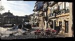 Toiles imprimées Photo place à Porto