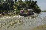 Photo bateau sur rivière Bangladesh