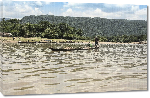 Toiles imprimées Photo bateau fleuve Bangladesh