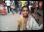 Toiles imprimées Photo enfant Bangladesh