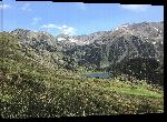 Toiles imprimées Photo du lac de Font Vive montagne Pyrénées Orientales