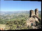 Toiles imprimées Photo du plateau Cerdan depuis Sant Feliu montagne Pyrénées Orientales