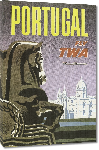 Toiles imprimées Affiche publicitaire Portugal Fly TWA