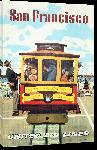 Toiles imprimées Affiche publicitaire vintage San Francisco, Cable Car, United Airlines