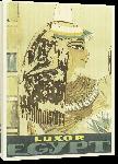 Toiles imprimées Affiche publicitaire vintage Luxor Egypt