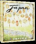 Toiles imprimées Affiche publicitaire vintage Japan, United Airlines