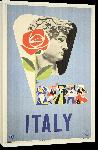 Toiles imprimées Affiche publicitaire vintage Italy