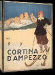 Toiles imprimées Affiche publicitaire vintage Cortina D'Ampezzo