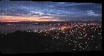 Toiles imprimées Photo côté sud africaine de nuit