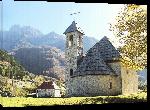 Toiles imprimées Photo Eglise en albanie