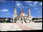 Toiles imprimées Photo place église en Albanie