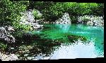 Toiles imprimées Photo étendu d'eau en Albanie
