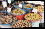 Toiles imprimées Photo marché d'olive en albanie