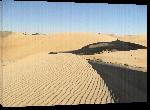 Toiles imprimées Photo paysage désertique dans le sahara en Algérie