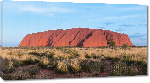 Toiles imprimées Photo Ayers Rock en Australie