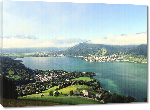 Toiles imprimées Photo lac Zell am see en autriche