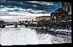Toiles imprimées Photo pont sur rivière en Australie