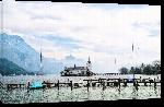 Toiles imprimées Photo lac alpes Autriche