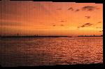 Toiles imprimées Photo coucher soleil ocean Bahamas