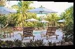 Toiles imprimées Photo chaise longue Bahamas