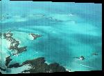 Toiles imprimées Photo vue aérienne Bahamas