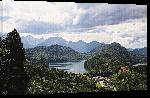 Toiles imprimées Photo lac de montagne alpes en Allemagne