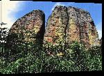 Toiles imprimées Photo rocher montagneux en Angola