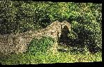 Toiles imprimées Photo vieu pont en pierre Andorre