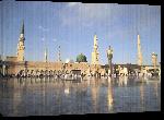 Toiles imprimées Photo mosquée Arabie Saoudite