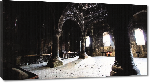 Toiles imprimées Photo intérieur monument archéologique en Arménie
