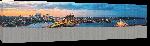 Toiles imprimées Photo lumière du soir sur  Sydney en Australie