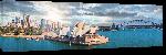 Toiles imprimées Photo en soirée de Sydney Australie