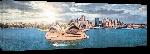 Toiles imprimées Photo du théâtre de Sydney (face)