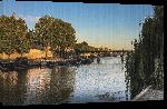 Toiles imprimées Photo lever soleil sur lac