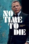Poster No Time To Die Mourir peut attendre (quotes April 2020)