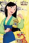 Poster du dessin animé Mulan Disney